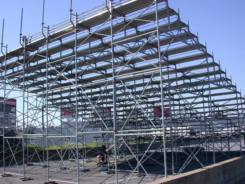 Memphis Motor Sports Park Mid South Scaffold