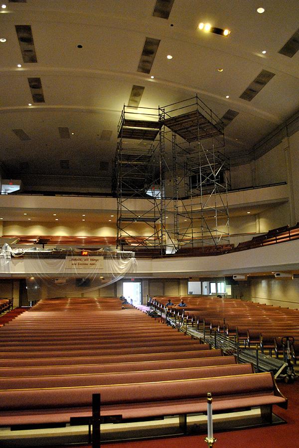 The Blvd Church Of Christ Mid South Scaffold